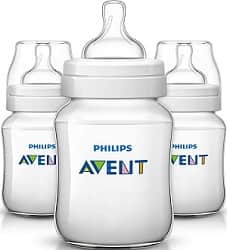 Philips Avent Anti Colic Bottles Clear