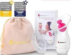 NatureBond Silicone Breastfeeding Manual Breast Pump