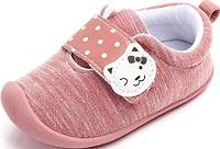 Kuner Baby Boys Girls Cotton Rubber Sloe Outdoor Sneakers