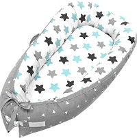Baby Lounger and Baby Nest Sharing Co Sleeping Baby Bassinet
