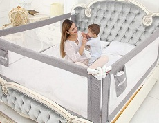 Toddler Bed Rail Safety Guard Bedrail Kids Baby Infant Crib Side Protector