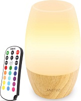 ANGTUO LED Wooden Night Light