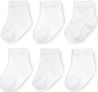 Fruit of the Loom Baby Cotton Stretch Socks