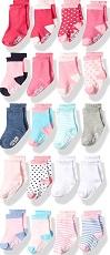 Little Me Baby 20Piece Assorted Socks