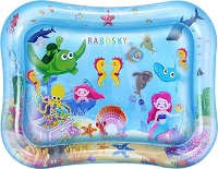 Rabosky inflatable baby water mat