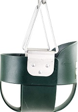 Squirrel Products High Back Full Bucket Toddler Swing