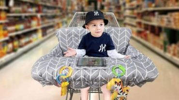 best baby shopping cart seat cover