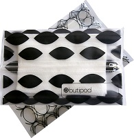 200 Count Unscented Cotton Tissues for Sensitive Skin Dimora Soft Dry Wipe Made of Cotton Only