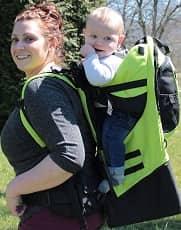 Gorilla Carrier child hiking backpack carrier