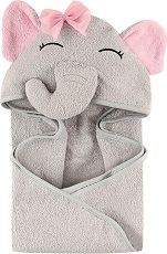 Hudson Baby UnisexBaby Animal Face Hooded Towel