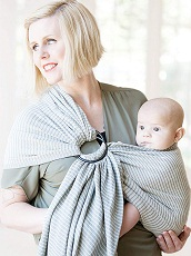 Moby ring sling baby carrier