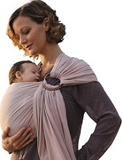Nalakai luxury ring sling baby carrier