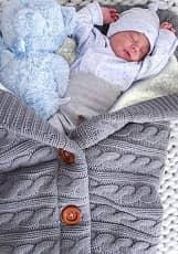 XMWEALTHY Unisex Infant Swaddle Blankets