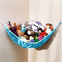 DOZENEGG Stuffed Animal Toy Organizer Hammock