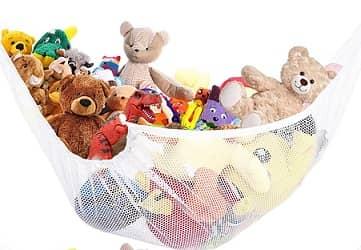 ETCBUYS Toy Storage Mesh Hammock Toy Storage