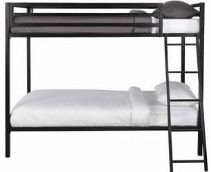 Mainstays Premium Metal Bunk Bed