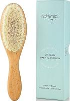 Natemia Quality Wooden Baby Hair Brush