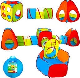 Playz Ball Pit Play Tent & Tunnels for Kids