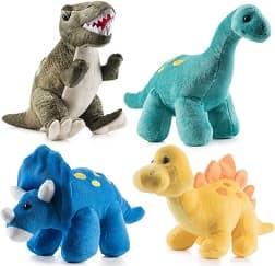 Prextex High Quality Plush Dinosaurs