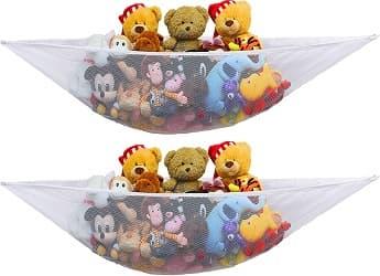 Simplehouseware Stuffed Animal Toy Storage Hammock