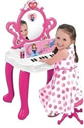 WolVol 2-in-1 Vanity Set for girls