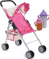 fash n kolor My First Doll Stroller