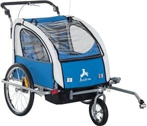 Aosom Elite Swivel Bicycle Cargo Trailer