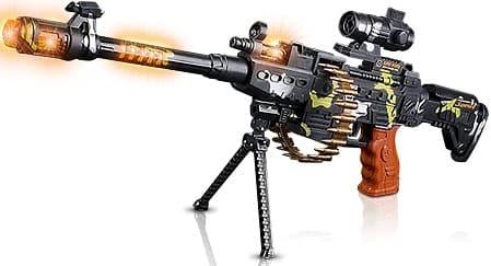 Art Creativity Toy Machine Gun with Scope