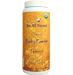 Bee All Natural Organic Baby Powder
