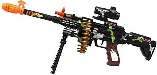 CifToys Combat Military Mission Machine Gun Toy