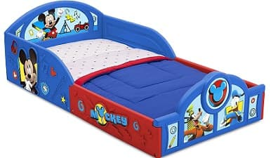 Delta Children Disney Deluxe Toddler Bed