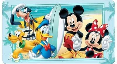 Disney Mickey Mouse Decorative Bath Mat