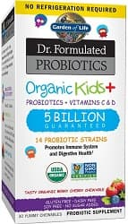Garden of Life-Dr. Formulated Probiotics Organic Kids