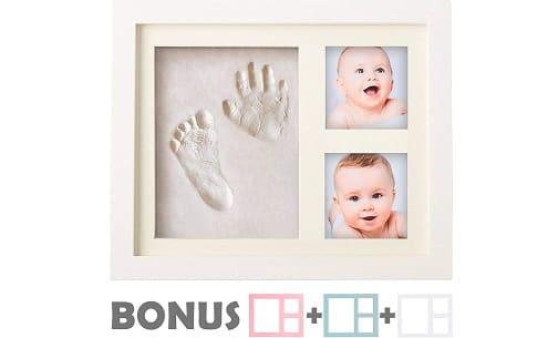 Little Hippo Baby Handprint and Footprint kit