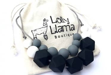Lolly Llama Teething Necklace