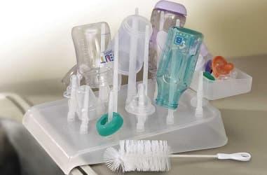 Mommys Helper Drain N Dry Bottle Drying Rack