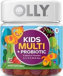 OLLY Kids Multi + Probiotic Gummy Multivitamin