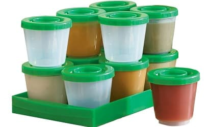 One Step Ahead Reusable Baby Food Containers