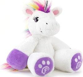 Plushible Unicorn Stuffed Animal for Kids
