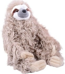Wild Republic Cuddlekin Three-Toed Sloth