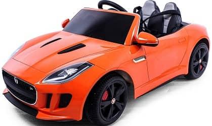 Jaguar Authorized Jaguar F-Type 12V Luxury Kids Ride