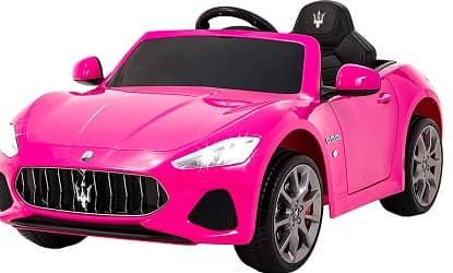 Uenjoy Maserati GranCabrio 12V Electric Kids Ride